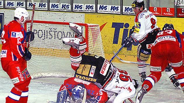 Chrudimští hokejisté si v přípravě poradili i s nováčkem z Vrchlabí.
