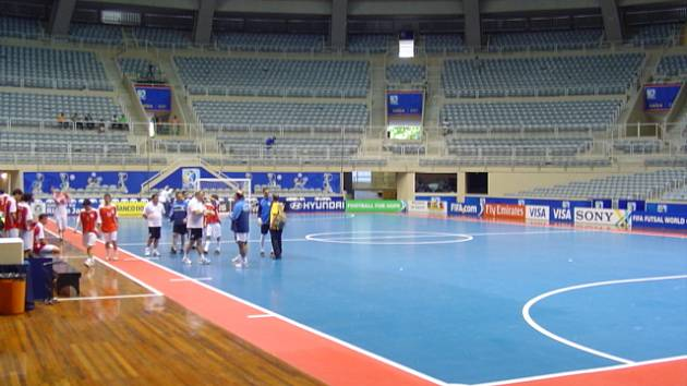 Futsalová reprezentace už je v Brazílii, kde začíná mistrovství světa.