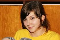 Eliška Vagenknechtová, 14 let: Poradila bych jim, ať nezlobí a dělají si domácí úkoly. A taky ať si nosí do školy velké svačiny.