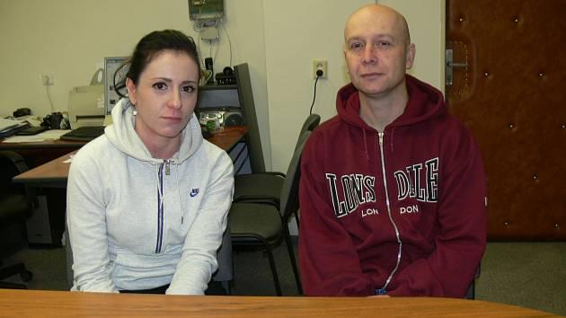 ZDENKA Vopršálová a Pavel Fousek brzy obléknou uniformu strážníků.