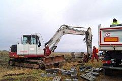 Práce na stavebních parcelách začaly