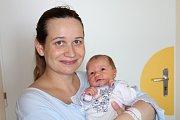 ADÉLA POČEPCOVÁ (3,7 kg a 51 cm) je od 6.7. od 15:55 po 2,5letém Radimovi jméno dalšího miminka Petry a Martina z Prahy.