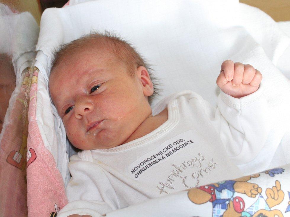ELLA BOHUSLAVICKÁ (3,2 kg a 49 cm) se narodila 31. 12. ve 3:07 Petře a Robinovi z Chrudimi. Doma ji čekají dvě sestřičky, Katka (4,5) a Karolína, které je rok a půl.