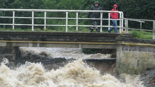 Záplavy na Chrudimsku, 25. 6. 2013 - Bítovany