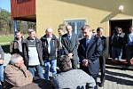 Návštěva ministra financí Andreje Babiše v obci Vysočina