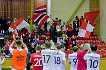 Futsalisté Era-Packu v nejkratším možném čase postoupili do semifinále.