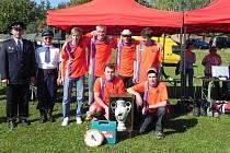 V kategorii mužů hasičskou soutěž v Horce družstvo SDH Zbožnov.