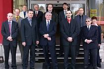 Chrudim navštívila delegace z partnerského města Ede.