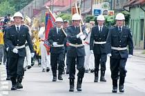 Slatiňanští hasiči slavili výročí.