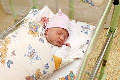 Lucinka Rybičková se narodila 29. února v 5:30.