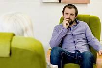 Milan Štorek, terapeut Krizového centra.