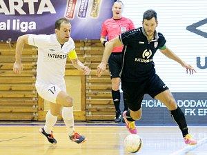 VARTA futsal liga: FK ERA-PACK Chrudim - SK Interobal Plzeň.