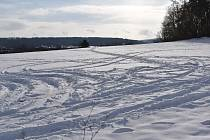 Zima u  Heřmanova Městce.