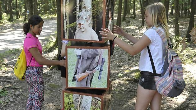 V lesích chrudimské Podhůry je pro děti spousta zábavy.