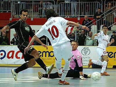 UEFA Futsal Cup v Chrudimi.