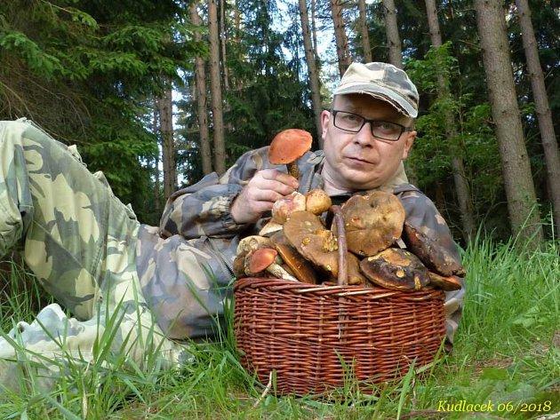Hlinecký houbař Jiří Laštůvka