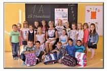 Žáci z 1. A Základní školy Třemošnice, kterou vede paní učitelka Romana Čermáková.