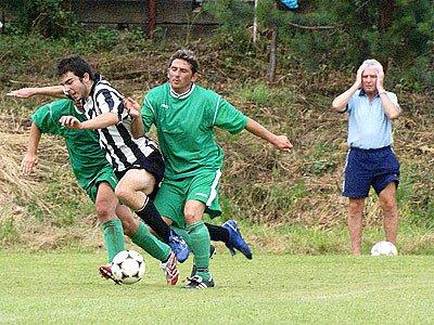 Fotbalový turnaj v Dřenicích.