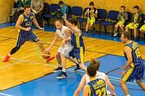 Proti Vysoké nad Labem se chrudimští basketbalisté pořádně nadřeli.