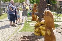 Hlinsko lákalo na vůni dřeva a medu i na ukázky řemesel