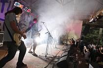Z hudebního festivalu Studnice fest 2012.