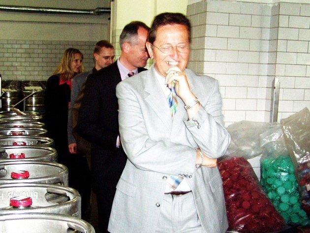 Holandská delegace navštívila před časem hlinecký pivovar.