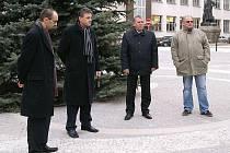 Slavnostní otevření Široké ulice.