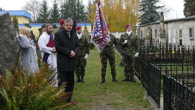 Vzpomínka na hřbitově sv. Václava