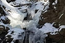 Výprava k ledopádu a jeho okolí.