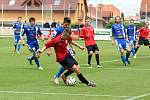 Z utkání MFK Chrudim – FK Králův Dvůr 2:1