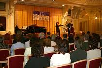 Vánoční koncert Jitky Zelenkové v Chrudimi.