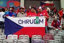 Chrudimští fanoušci na stadionu v Toulouse na EURU 2016