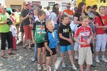 Ze závodu Cyklo Maštale 2013 v Proseči.