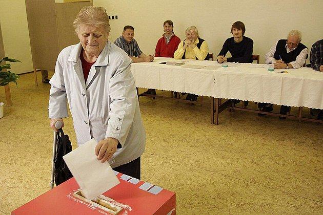 Komunální volby v Hlinsku v pátek 15. října 2010.