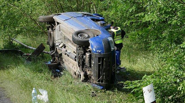 Tragická dopravní nehoda u Libáně