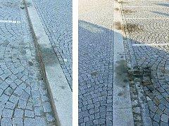 Z chrasteckého náměstí mají zmizet ošklivé olejové skvrny.