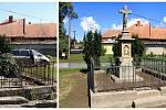 Křížek ve Vlčnově je opraven, dočká se požehnání. Jeho historie je však záhadou