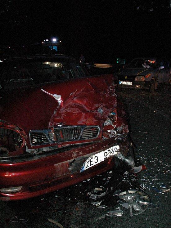 SRÁŽKA nedaleko Seče způsobila několik zranění
