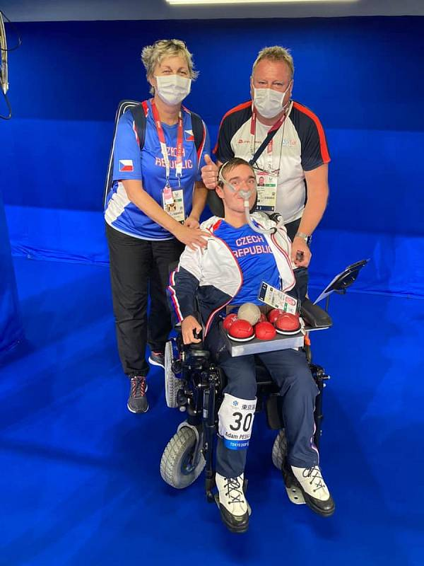 Adam Peška z Rohovládové Bělé a TJ Košumberk zvítězil na paralympiádě