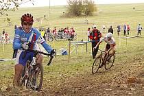 V hlineckých Olšinkách se jel 6. závod českého cyklokrosového poháru TOI TOI Cup 2009.