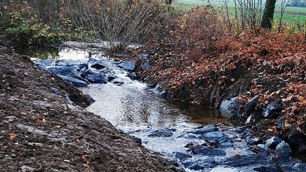 Zlatý potok a Lovětínský potok na Třemošnicku.