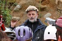 Ředitel Vodních zdrojů Chrudim Daniel Smutek.
