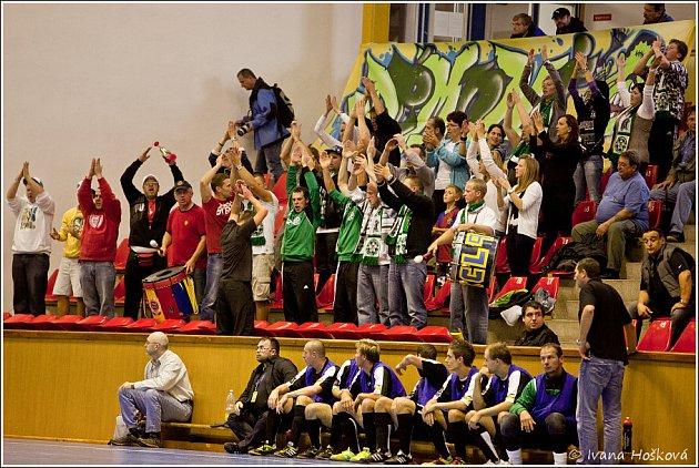 Futsalisté Era-Packu Chrudim uštědřili České Lípě porážku 16:2.