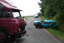 Při nehodě mezi Sečí a Kovářovem zahynula čtyřetá dívenka.