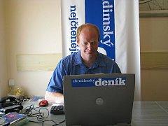 Místostarosta Chrudimi Roman Málek odpovídal on-line čtenářům Chrudimského deníku.