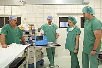 Chirurgické oddělení Nemocnice Chrudim.