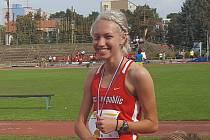 Sprinterka Anna Kozlová