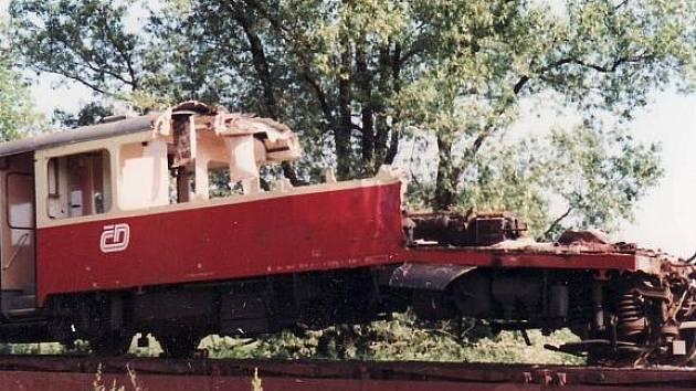 Železniční neštěstí u Krouny