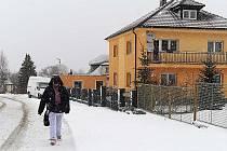 V Nasavrkách začalo opět sněžit ve čtvrtek. Na lyže to ale zatím ještě nebylo.