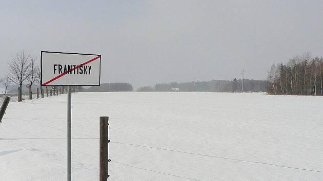Lednová zimní pohodičkách v okolí František na Hlinecku.